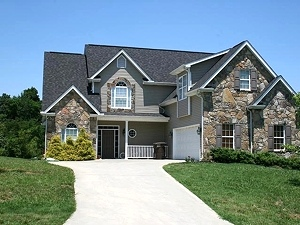 Home Remodel Stone Exterior | Knoxville, TN